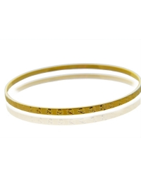 18K Gold Plated Designer Inspired Bangle