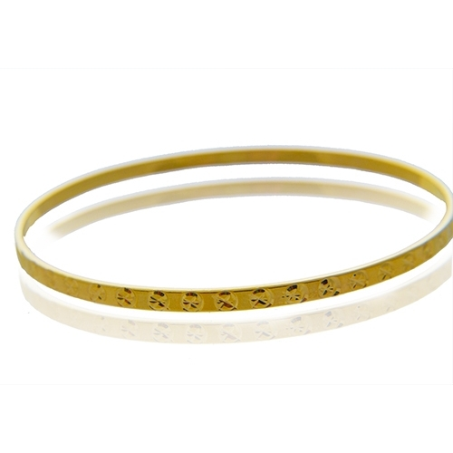 bfb5fb35a673a  10 Bracelets - 18K Gold Plated Cartier Inspired Bangle