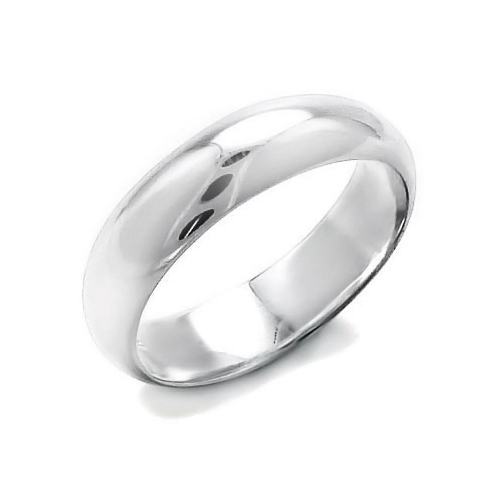 10 rings rhodium plated wedding band