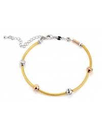 18K Gold Plated Multi Color Bracelet