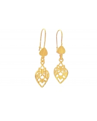 18K Gold Plated Tigre Dangle Earrings