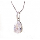 Pear Drop Pendant and Necklace