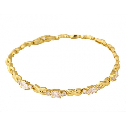 fc068b71cfd Online Jewelry Deals - 14K Gold Plated Cartier Style Bracelet