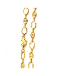 18K Gold Plated Coffee Bean Necklace