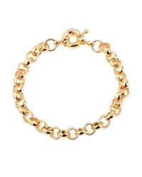 18K Gold Plated Heart Bracelet
