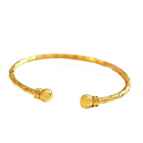 men bangles real bangle chain fashion bracelet jewelry p gold women plated classic