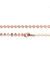 Rose Gold Plated 90cm Necklace