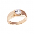 18K Gold Plated Engagement Ring