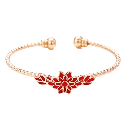 hoardjewelry products bangles bracelet bangle gold rose or