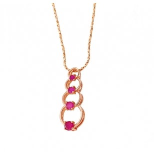 18K Gold Plated Chain Twisted Necklace