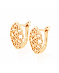 Rose Gold Plated Vintage Earrings