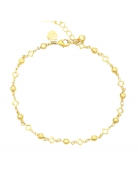 14K Gold Plated Anklet
