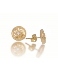 18K Gold Plated Designer Inspired Earrings