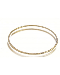 18K Yellow Gold Plated Bangle Bracelet